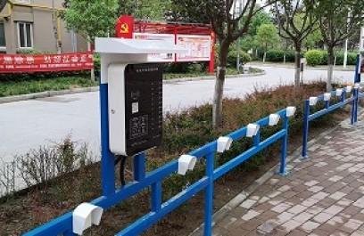 陕西西安电动自行车充电站案例