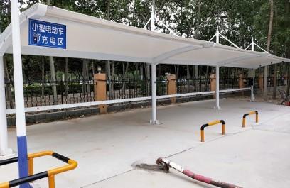 山东博兴10路电瓶车充电站案例