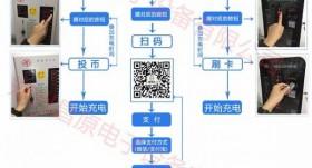 郑州昌原智能充电站用户使用操作流程介绍