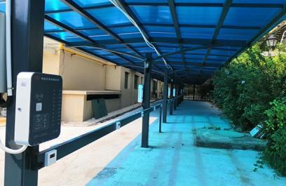 恒大绿洲智能小区便民充电站安装案例
