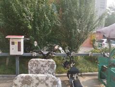 昌原丽天尚都10路小区充电站安装案例