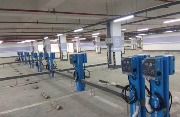 郑州昌原锦艺地产新能源汽车充电桩安装案例