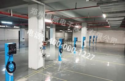 国内某地产7kw汽车交流充电桩项目安装现场