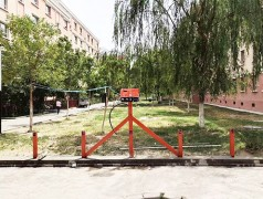 郑州昌原智能扫码电动车充电桩安装现场