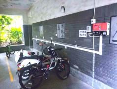 郑州昌原电动自行车充电站小区安装现场案例