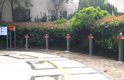 郑州昌原青岛某小区电动车智能充电站安装案例115
