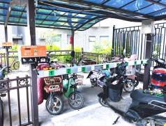 郑州昌原郑州某小区电动车充电站安装现场105