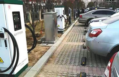 郑州昌原直流充电桩安装现场