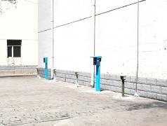 客户4路大功率智能充电桩安装现场实拍